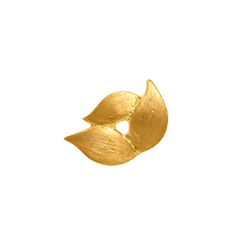 Delicate Nose Pin in 22K Yellow Gold