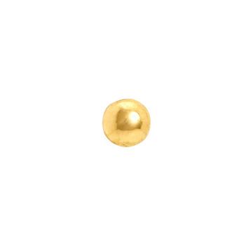 22K Yellow Gold Nose Pin