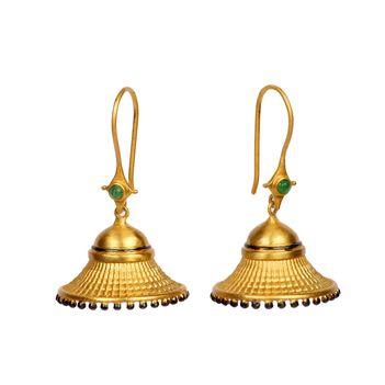 925 Sterling Silver Jhumka Delight Earrings