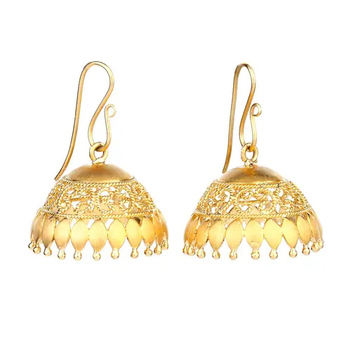 Aesthetic 18K Gold Jhumki