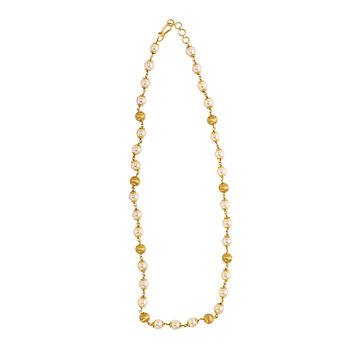 August Gold & Pearl Chain