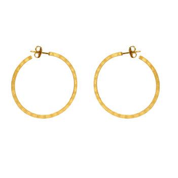 Stark 925 Sterling Silver Hoop Earrings