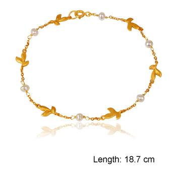 Bract Pearl 925 Sterling Silver Bracelet