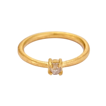 Basic Rough Diamond Ring
