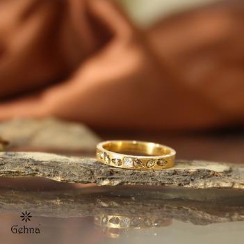 Divine Princess Cut and Rose Cut Diamond Ring