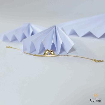 Chirpy 18k Gold Bracelet