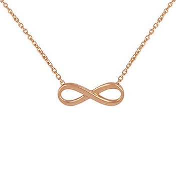 Sterling Silver Infinity Pendant with Chain