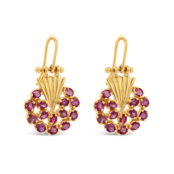 Marvellous Ruby Earrings