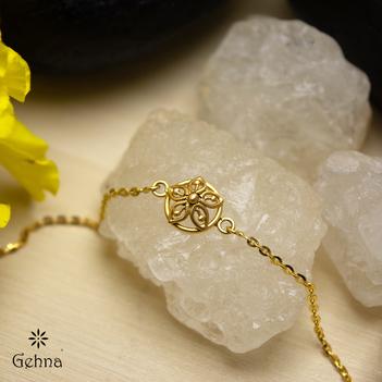 Blossomy 18K Gold Bracelet