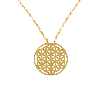 Playful Sterling Silver Pendant with Chain
