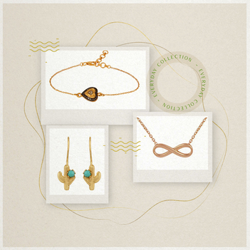 Trendy Essentials Silver Jewellery Box