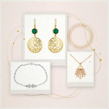 Classy Elegance Onyx and Silver Jewellery Box