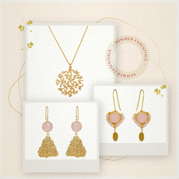 Chic Elegance Silver Jewellery Box