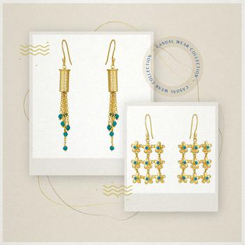Divine Turquoise Jewellery Box
