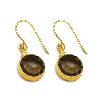 Charismatic Quartz 925 Sterling Silver Hook Earrings