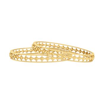 Elegant 22k Gold Bangle (2'6 Size & 1pair)